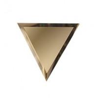 Зеркальная плитка ромб бронза верх/низ 300х255 мм