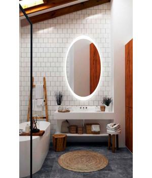Зеркало с встроенной подсветкой для ванной Мелодия